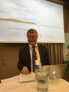 Markku Markkula president of COR shares his insights on the CPMR Baltic
