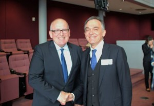 President Rossi meet Commissioner Timmermans 1